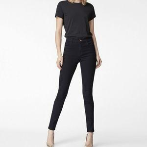 J BRAND Maria Black High Rise Skinny Jeans Size 27
